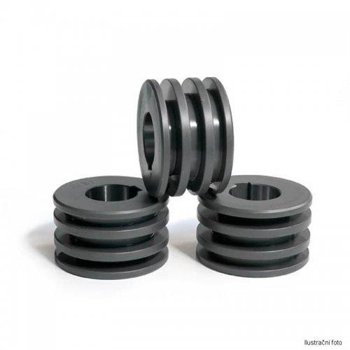 Sada tří kladek pro pásovou ocel na výšku 5/6mm max. šířka 50mm BOW 1080418