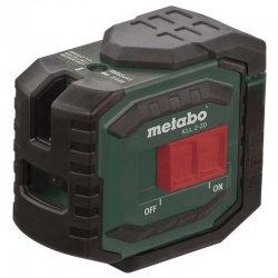 Křížový liniový svislý laser Metabo KLL 2-20