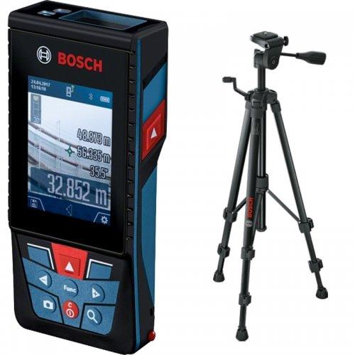 Laserový dálkoměr Bosch GLM 120 C Professional + stativ BT150