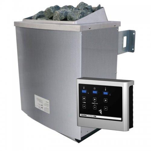 Saunová kamna s externím dig. ovladačem KARIBU 9 kW (80637)