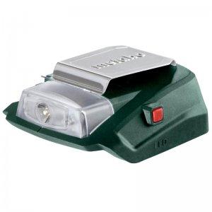 Akumulátorový výkonný adaptér Metabo PA 14.4-18 LED-USB