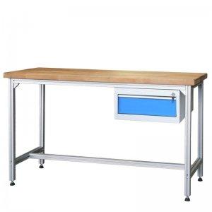 Pracovní stůl hliníkový se zásuvkou Vykona MPA 2