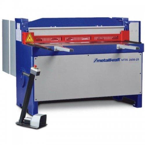 Elektrické tabulové nůžky na plech Metallkraft MTBS 2550-25