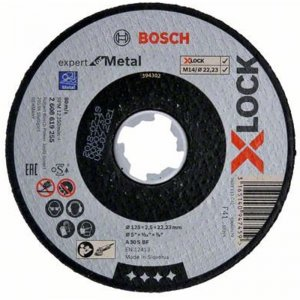 Řezný kotouč na kov Expert for Metal 125mm Bosch X-LOCK 2608619255