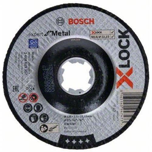 Řezný kotouč na kov Expert for Metal 125mm Bosch X-LOCK 2608619257