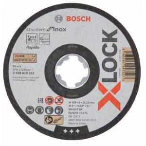 Řezný kotouč na kov Standard for Inox 125mm Bosch X-LOCK 2608619267