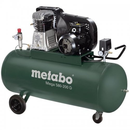 Olejový kompresor Metabo Mega 550 - 90 D