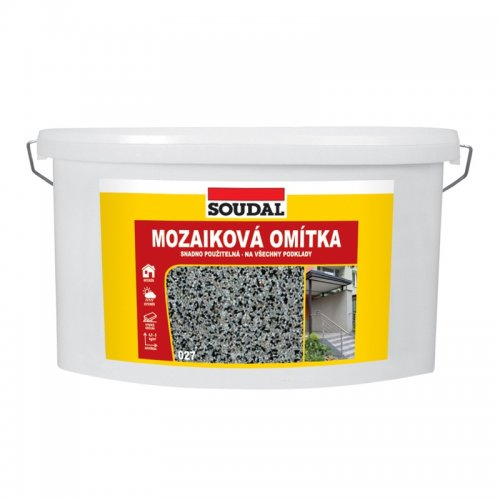 Mozaiková omítka 8 kg šedá 027 Soudal 1516273