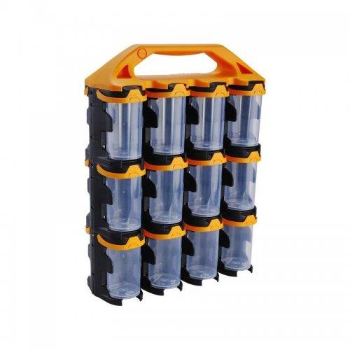 Organizér 24 modulů oranžový přenosný EXTOL CRAFT 78908