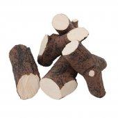 Ozdobné keramické prvky do biokrbu dřevo