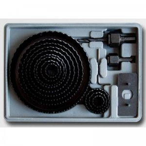 Vykružovací sada 19mm-127mm 16 dílů STAVTOOL P11804