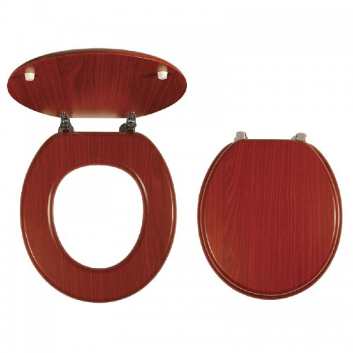 WC Sedátko dýhované dřevo Novaservis WC/ORECHLYRA