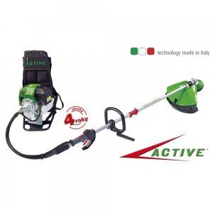 Benzinový zádový multifunkční profi křovinořez ACTIVE 4,0 Z
