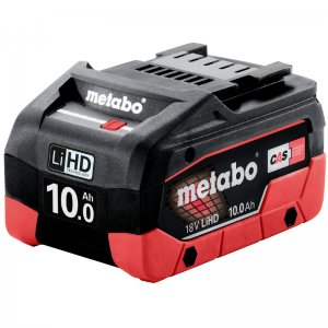 AkumulátorLiHD 18V/10,0Ah Metabo 625549000