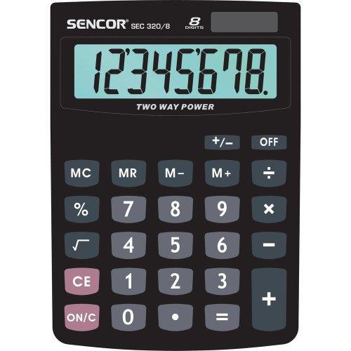 Stolní kalkulačka SENCOR SEC 320/ 8 DUAL