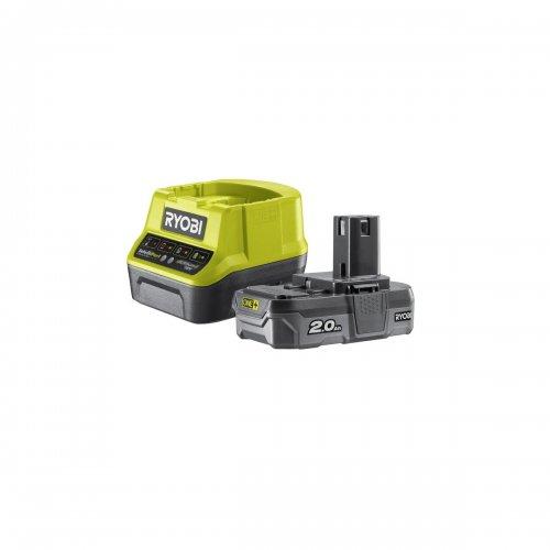 Sada akumulátoru s nabíječkou 18V / 1x 2Ah ONE+ RYOBI RC18120-120