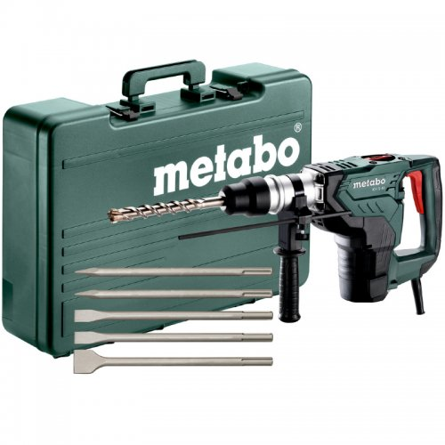 Kombinované kladivo SDS-Max +5 sekáčů Metabo KH5-40 691057000