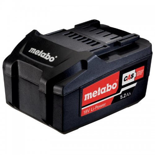 AkumulátorLi-Power 18V/5,2Ah Metabo 625592000