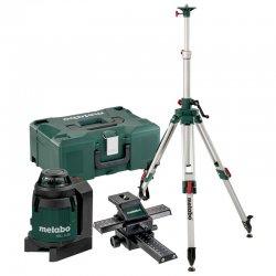 Set kžížový laser + stativ + saně Metabo MLL3-20 690931000