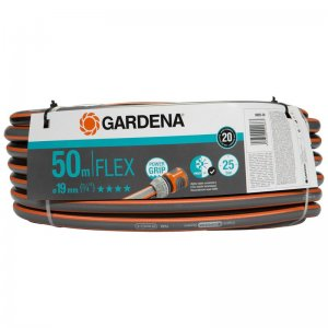 "Hadice Gardena Comfort FLEX 9x9 19 mm (3/4""), 50 m bez armatur 18055-20        Nůžky na větve Gardena EnergyCut 750 B"