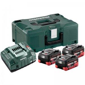 Základní set LiHD 18V/3x5,5Ah, ASC 55, metaloc II Metabo 685069000