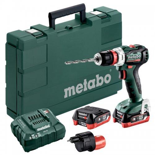 Aku vrtačka 2x4,0Ah Metabo PowerMaxxBS12BLQ 601039930