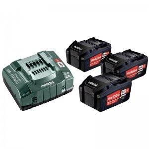 Základní set 18V/3x5,2 Ah, ASC 145 Metabo 685048000