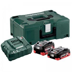 Základní set LiHD 18V/1x4,0+1x5,5Ah, metaloc Metabo 685136000