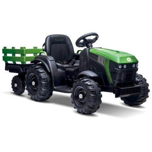 Elektrický traktor + vozík FARM BUDDY TOYS BEC 6211