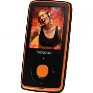MP3/MP4 přehrávač SENCOR SFP 6270 OR 8GB