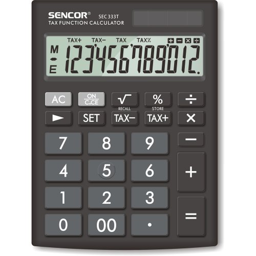 Stolní kalkulačka SENCOR SEC 333 T
