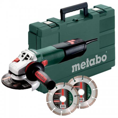 Úhlová bruska Metabo W 13-125 Quick Set 603627510