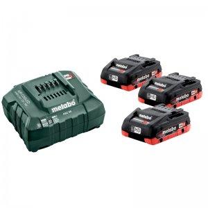 Základní set LiHD 18V/3x4,0Ah, ASC 55, karton Metabo 685132000
