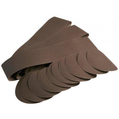 Sada kulatých brusných papírů a pásů pro BTS 800 Scheppach 7903302601