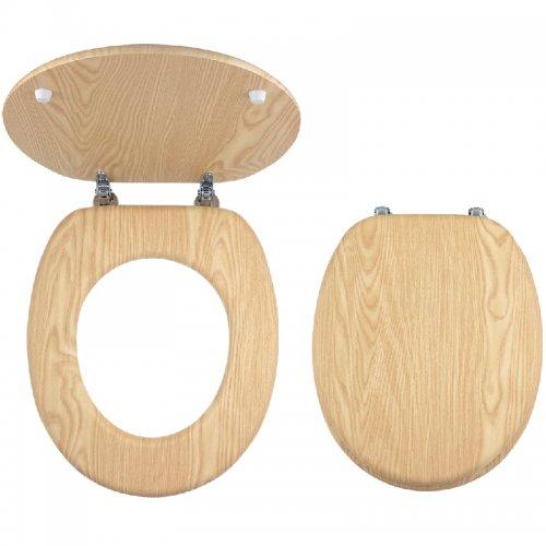WC Sedátko dýhované dřevo Novaservis WC/JASAN