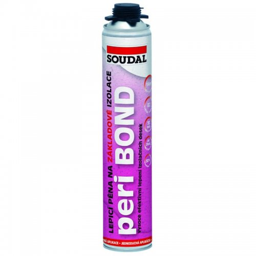 Lepící pěna na polystyren Soudal 750 ml PERI BOND