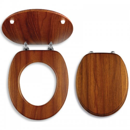 WC Sedátko dýhované dřevo Novaservis WC/DUB2