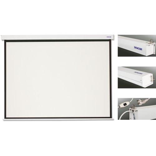 Elektrické projekční plátno SENCOR SES N203W