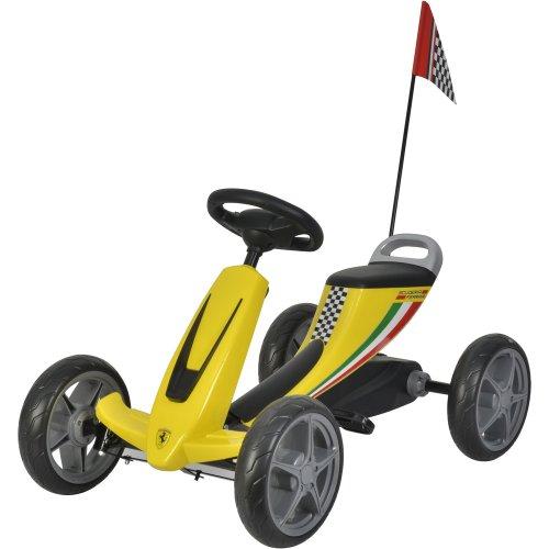 Šlapací kára Ferrari Go Kart BUDDY TOYS BPT 2002