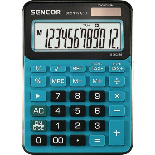 Stolní kalkulačka SENCOR SEC 372T/BU modrá