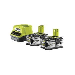 Sada akumulátoru s nabíječkou 18V / 2x 4Ah ONE+ RYOBI RC18120-240