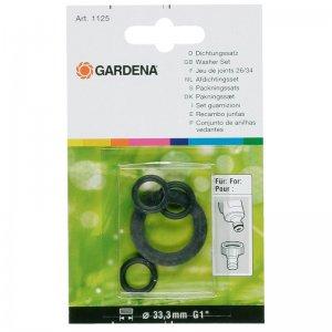 """Sada těsnění pro šroubení Gardena 902, 1"""" 1125-20              Šroubení Gardena 33,3 mm (G 1"""")"""