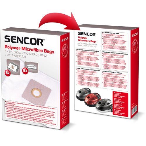 Sáčky (5ks) SENCOR SVC 660/670