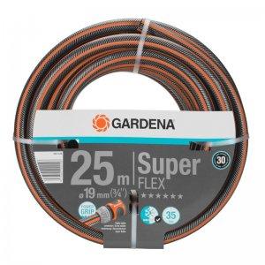 """Hadice Gardena SuperFLEX Premium 19 mm (3/4""""), 25 m bez armatur 18113-20"""