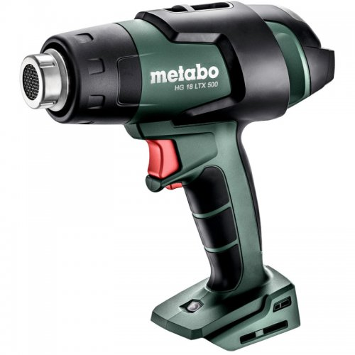 Aku horkovzdušná pistole 18V bez aku Metabo HG18LTX500 metaBOX 610502840