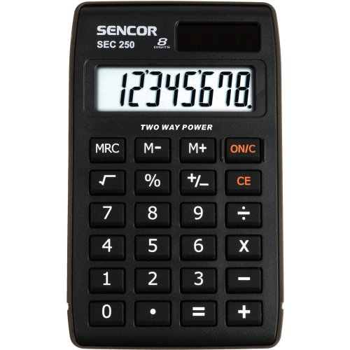 Kapesní kalkulačka SENCOR SEC 250
