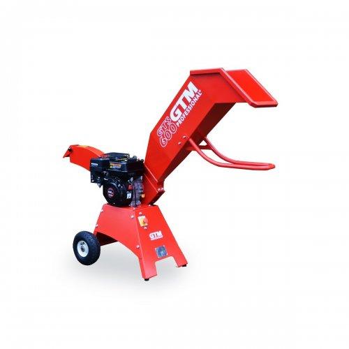 Profesionální drtič dřeva s benzinovým motorem GTM GTS 600