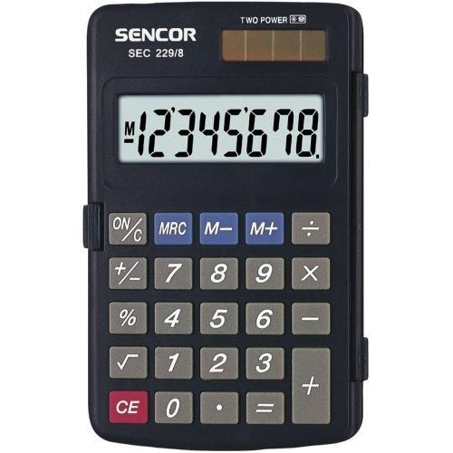 Kapesní kalkulačka SENCOR SEC 229/ 8 DUAL