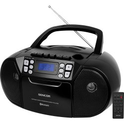 Rádio s CD/USB/BT/KAZE SENCOR SPT 3907 B