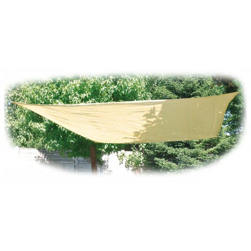 Stínící tkanina čtverec 3,6 x 3,6 m VERDEMAX Béžová 5892